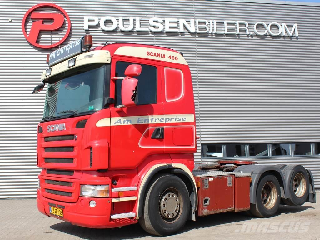 Scania R480 6x2 hydr.