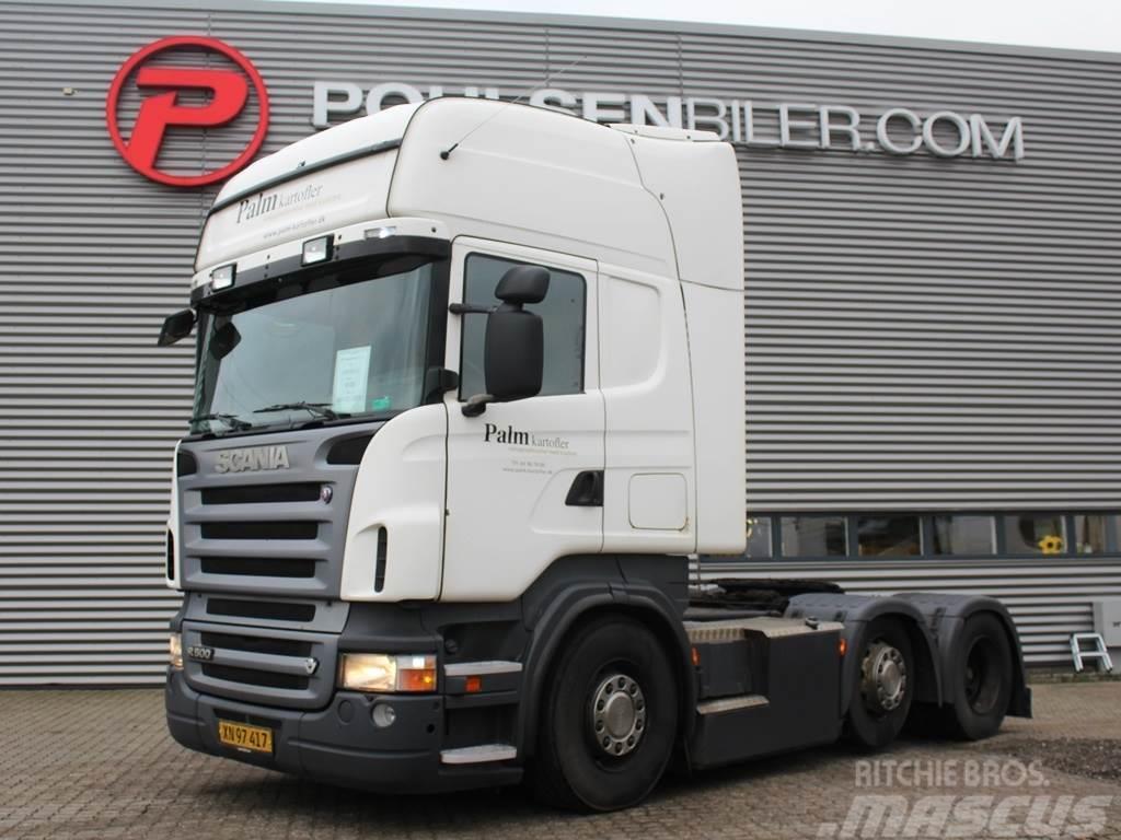 Scania R500 6x2-4 Manuel