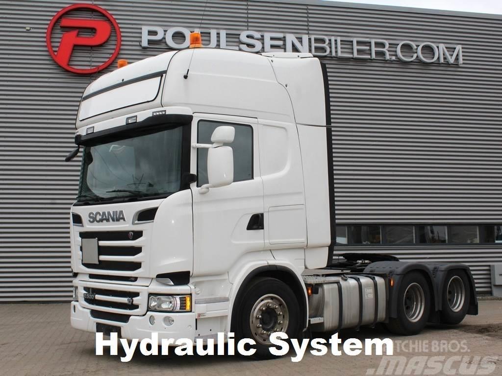 Scania R500 6x2 hydr. 3100mm