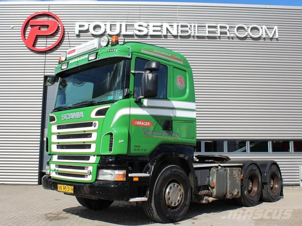 Scania R500 6x4 hydr.