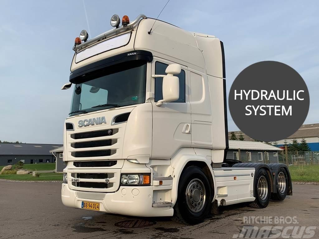 Scania R520 2900mm hydr.