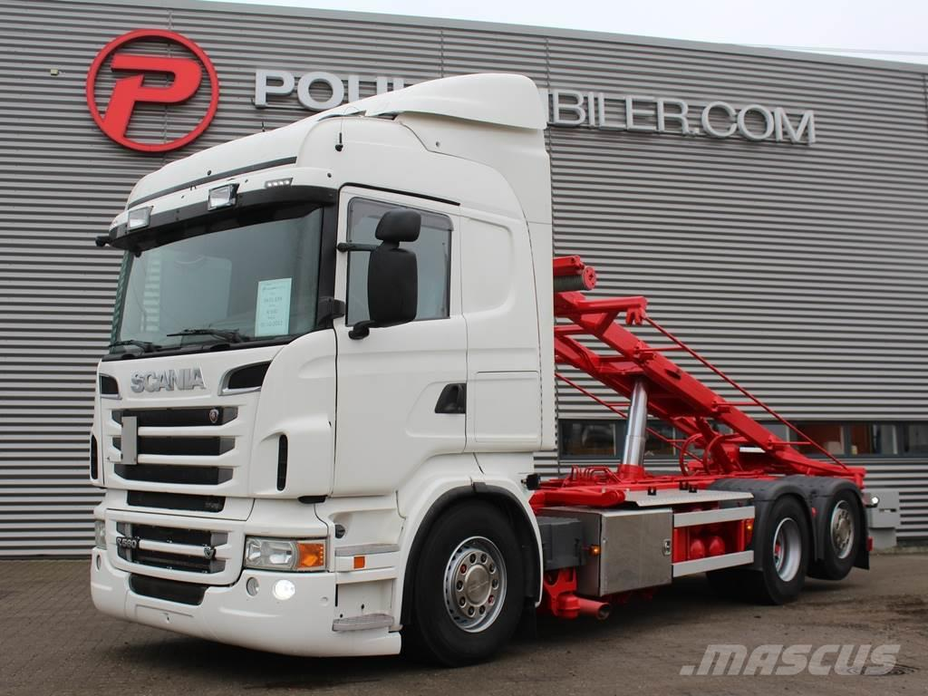 Scania R560 6x2 3-vejs Hejs