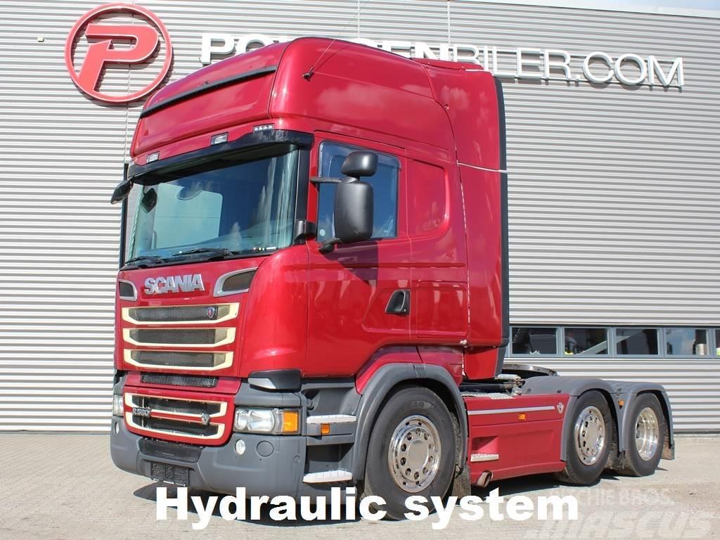 Scania R560 6x2-4 Hydr.