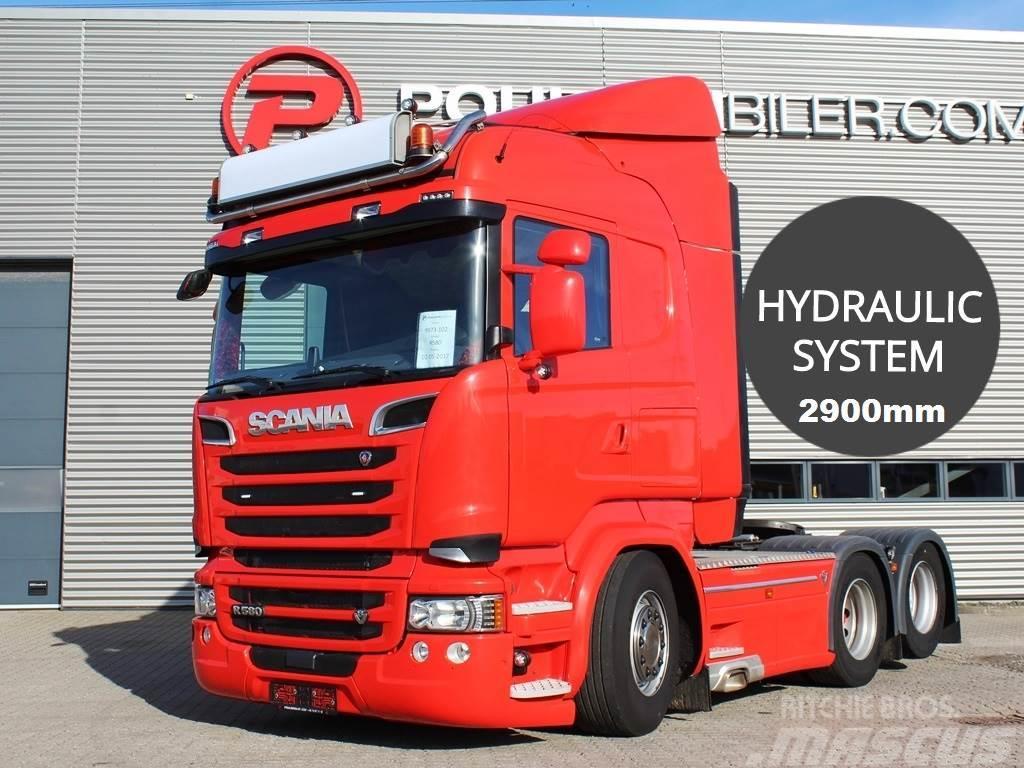 Scania R580 2900mm hydr.