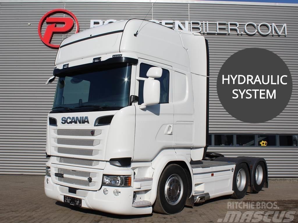 Scania R580 hydr. 3100mm
