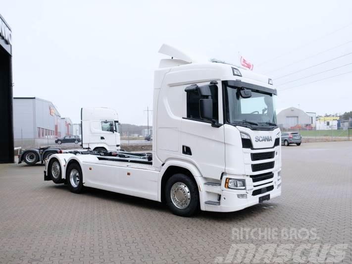 Scania R580 multilift kroghejs