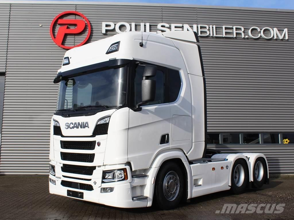 Scania R650 2950mm Boogie S 650