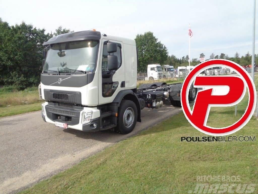 Volvo FE320 HMF 1620K5 kran