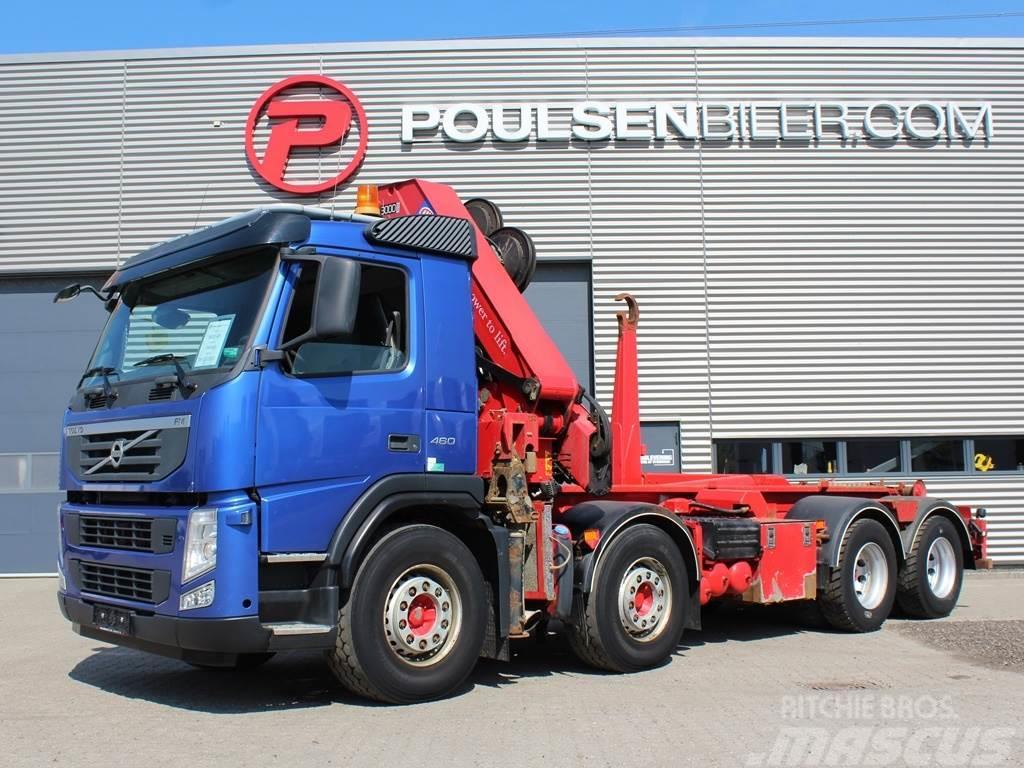 Volvo FM460 30 tons HMF kran