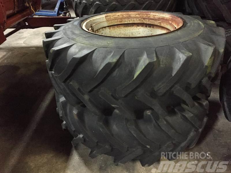 [Other] Tvillinghjul 16,9 x 28 med ring