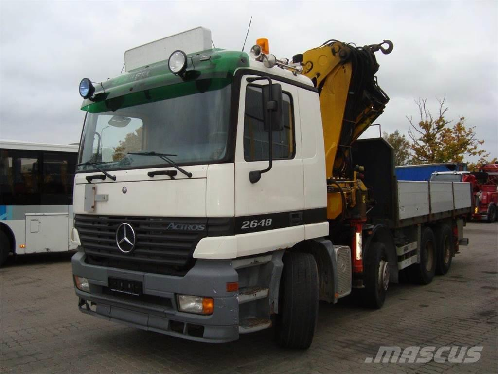 Mercedes-Benz ACTROS 2648 WITH CRANE FASSI F600XP.28