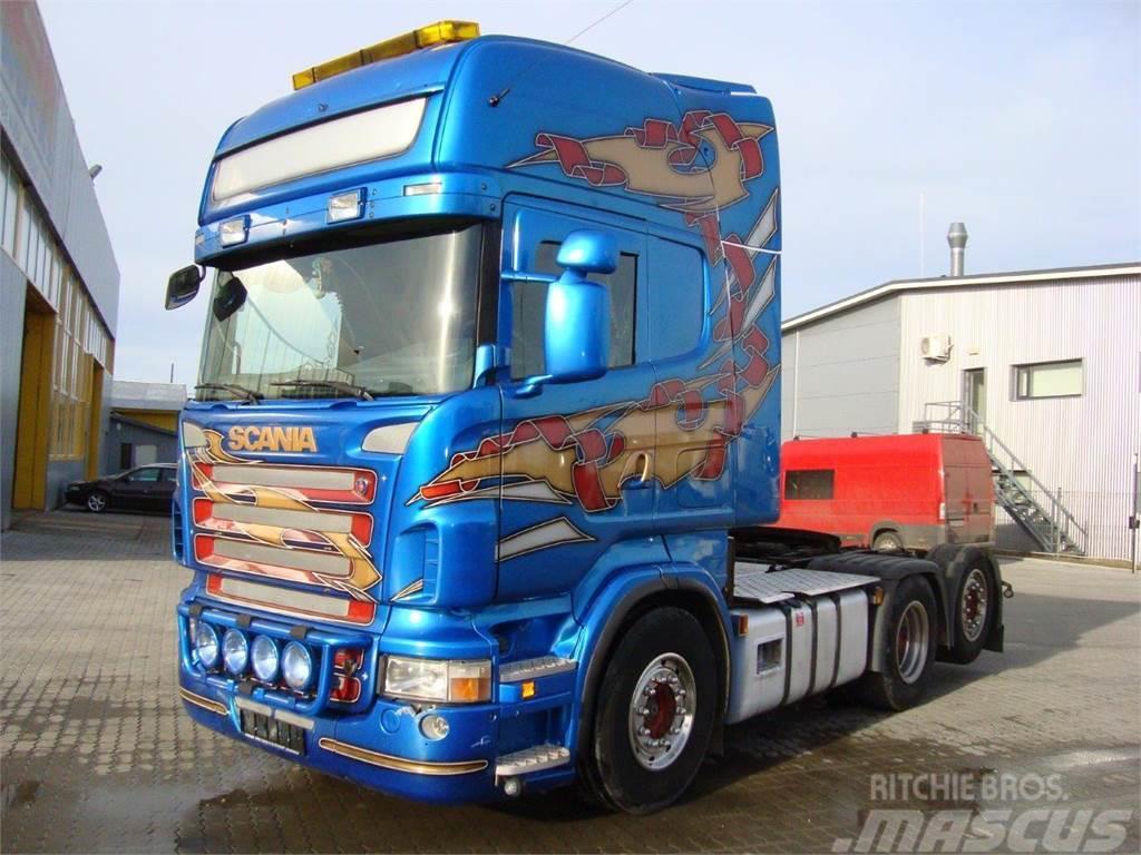 Scania R 620 6x2 TOPLINE OPTICRUISE
