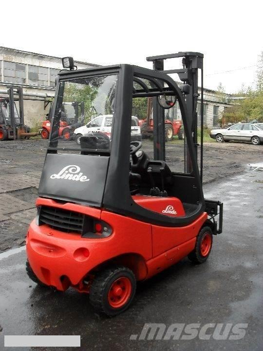 Linde [1995] LINDE H16D diesel 1,6t side shift