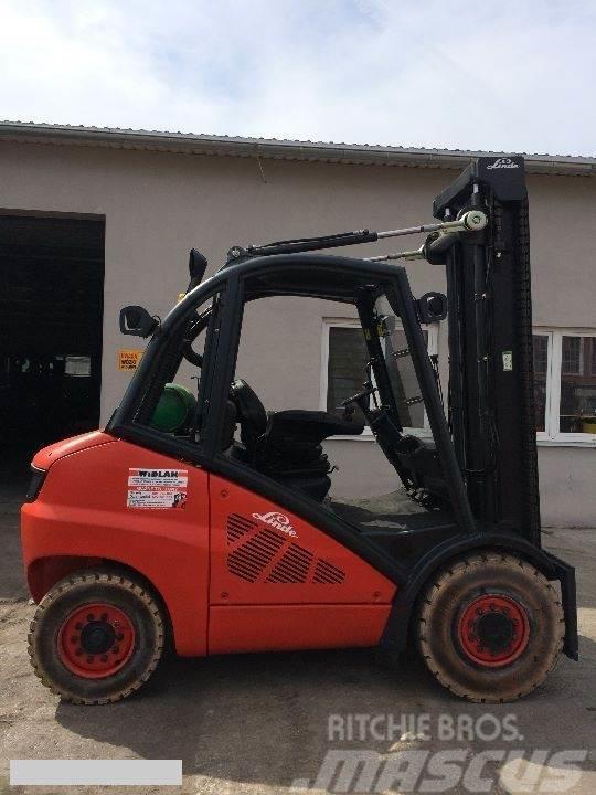 Linde [2005] LINDE H50T GAZ 5ton side shift