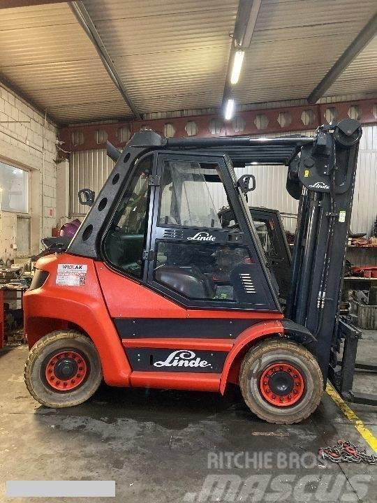 Linde [2011] LINDE H60D diesel 6ton side shift