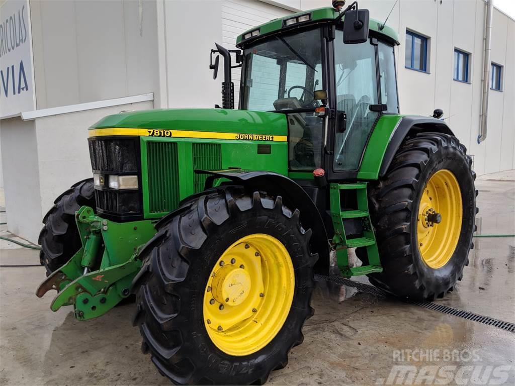 john deere 7810 baujahr 1999 gebrauchte traktoren. Black Bedroom Furniture Sets. Home Design Ideas