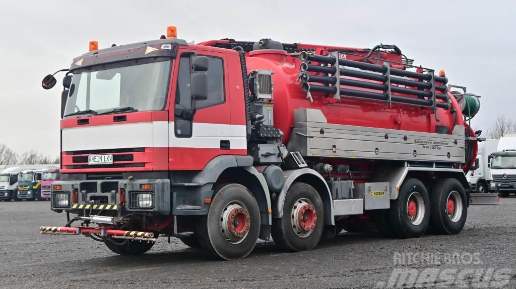 Iveco 340E42H Kaiser Saug-Druck-Kombispüler 10900L