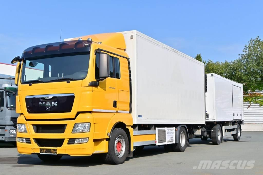 MAN TGX 18.440 Euro 5 Carrier 850 Klima LBW AHK Retard