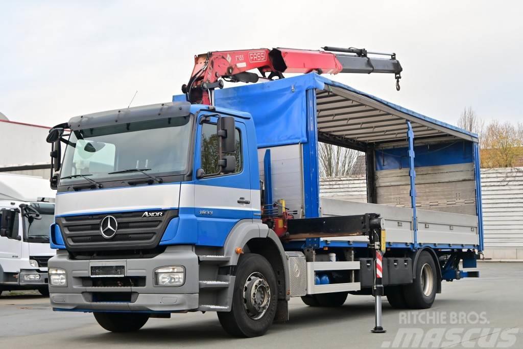 Mercedes-Benz Axor 1833 4x2 Euro 5 Kran FASSI F135A22 Funk AHK L