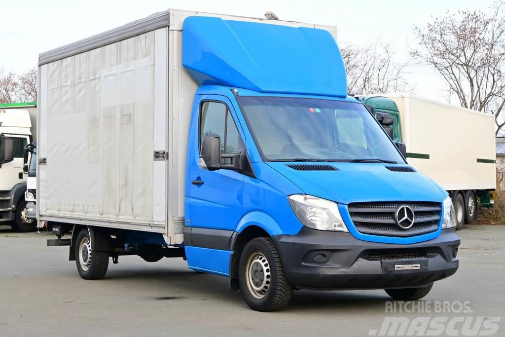 Mercedes-Benz Sprinter 316 Euro 5 Pritche+Plane Klima LBW AHK
