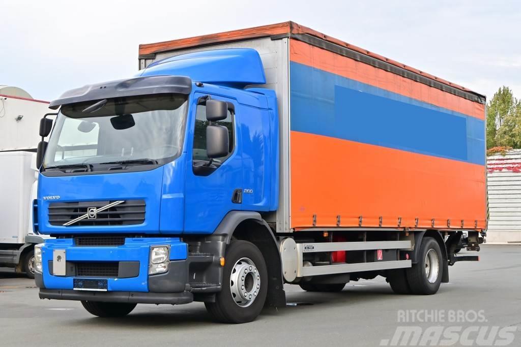 Volvo FE 260 Euro 5 LBW Pritsche + Plane