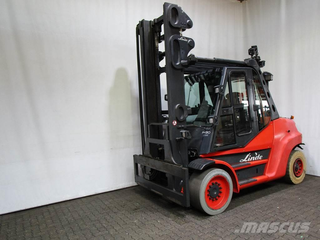 used linde h 80 d 900 396 diesel forklifts year 2010 price 44 800 for sale mascus usa. Black Bedroom Furniture Sets. Home Design Ideas