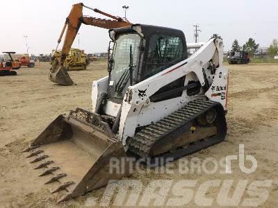 Purchase Bobcat -t650 skid steer loaders, Bid & Buy on