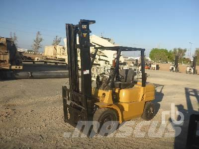Purchase Caterpillar GP30 diesel Forklifts, Bid & Buy on