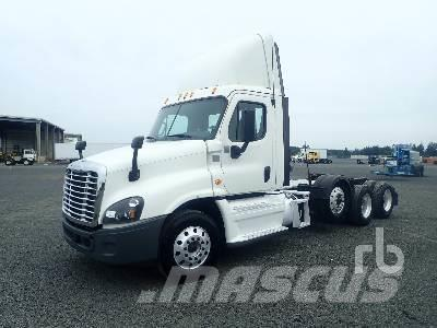 Purchase Freightliner Cascadia Day Cab tractor Units, Bid & Buy on