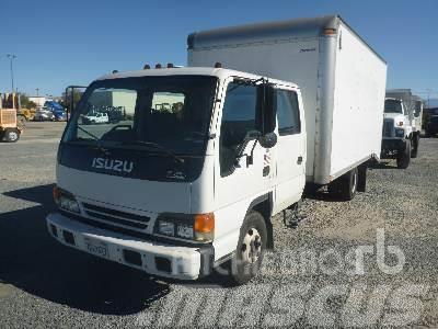 Purchase used Isuzu NPR panel vans via auction - Mascus