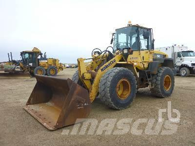 Purchase Komatsu WA250-6 wheel loaders, Bid & Buy on Auction