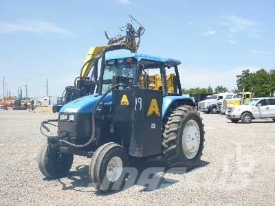 Purchase used New Holland TS100 tractors via auction