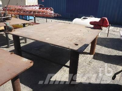 [Other] 7 FT X 7 FT STEEL WORK BENCH