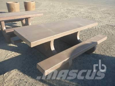 [Other] 8 Ft Concrete Picnic Table