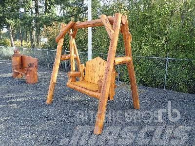 [Other] CUSTOMBUILT Log Bench Swing