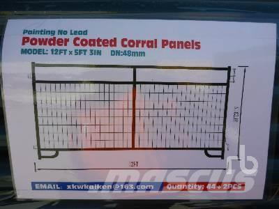 [Other] QUANTITY OF 12 Ft Powder Coated Corral (Grid)