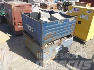 [Other] QUANTITY OF 2 Bins Concrete Blocks