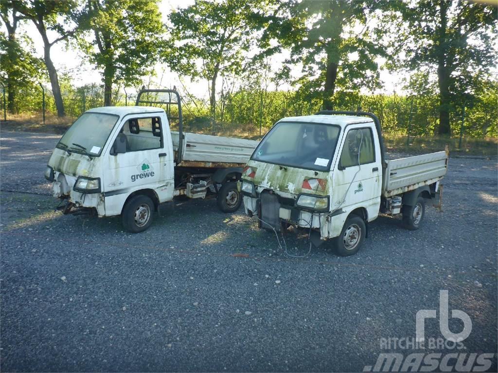 Piaggio Qty Of 2 Utility Vehicle