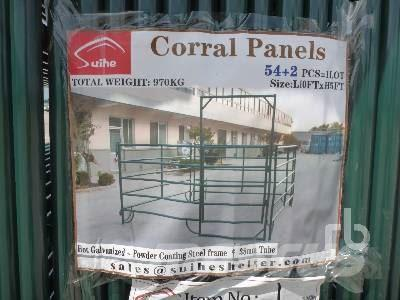 Suihe 10 Ft Powder Coated Corral