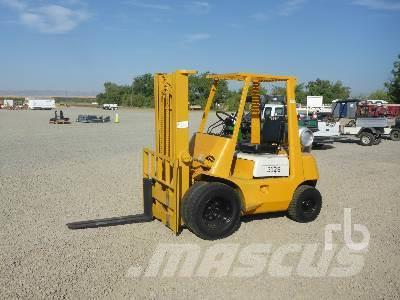 Buy Used Toyota 2500 Lb Diesel Forklifts On Auction Mascus Uk