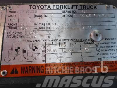 Toyota 7FGCU20