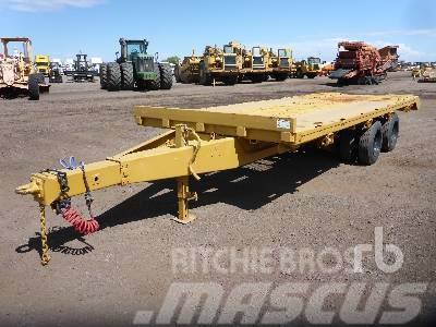 Wabash 20 ft 10 in x 8 Ft T/A Tilt Deck