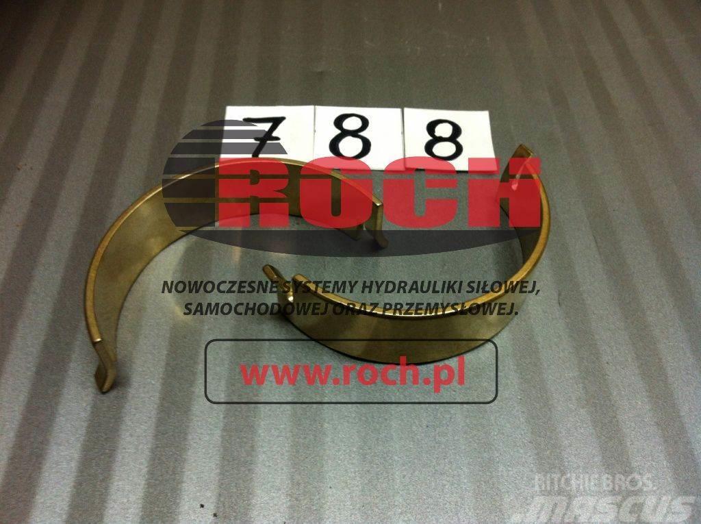 [Other] Części A10V45 Panewki pod kołyskę Bearing Shell
