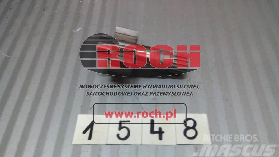 [Other] Części A4V90 Wałek do pompy zasilaj.Pinion Shaft