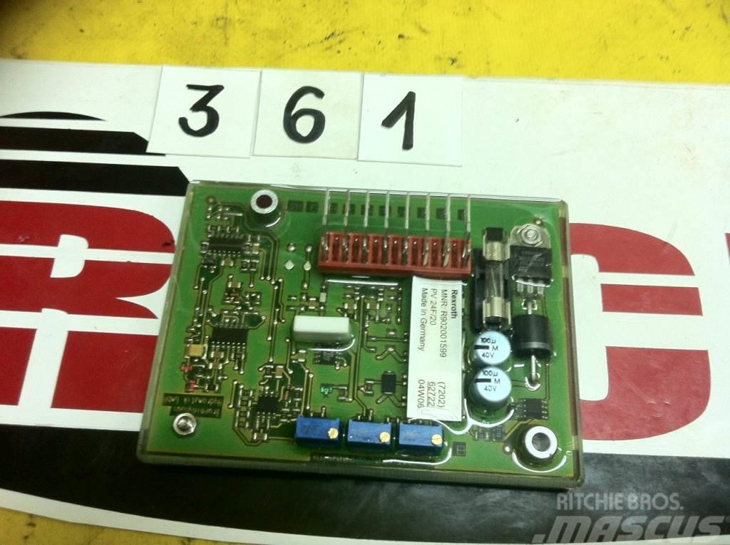 [Other] Części A4VG.. Element elektroniczny PV24F/20