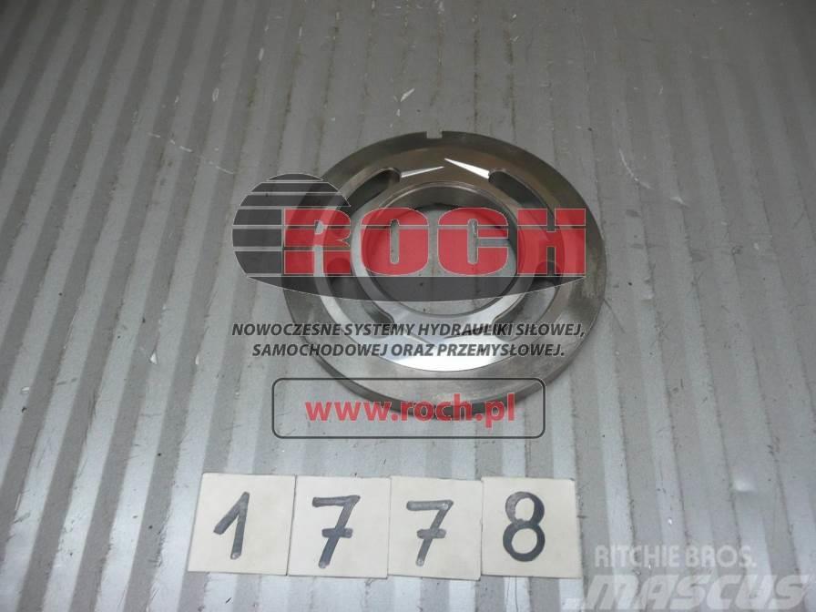 [Other] Części A4VG125 Płyta sterująca prawa Valve Plate R