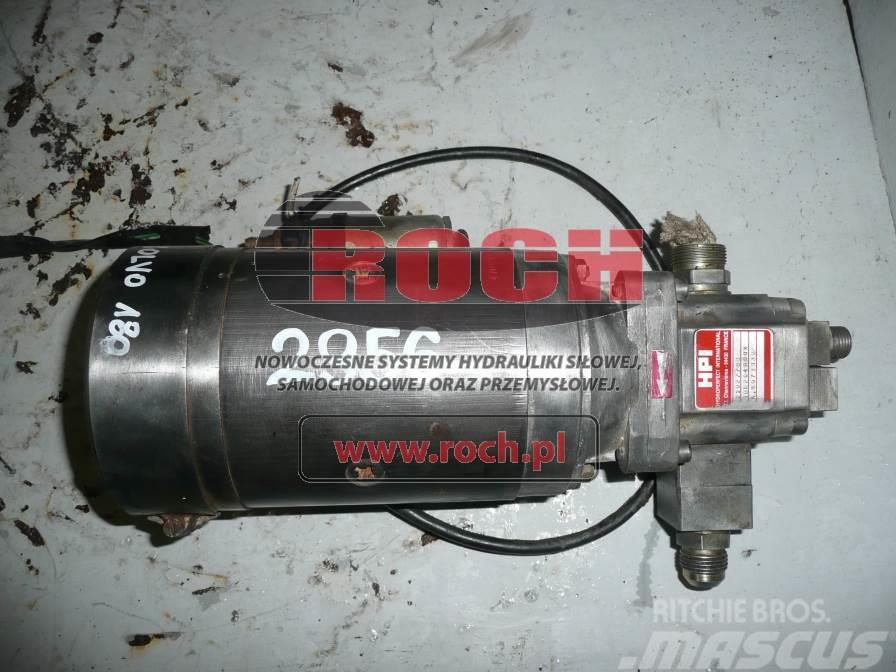 [Other] Pompa AL HYDROPER 21027783+ Rozrusznik 109524J 24V