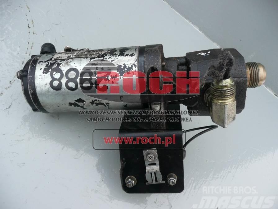 [Other] Pompa NN BEZ OZNACZEŃ + Rozrusznik 100490 24V RPM