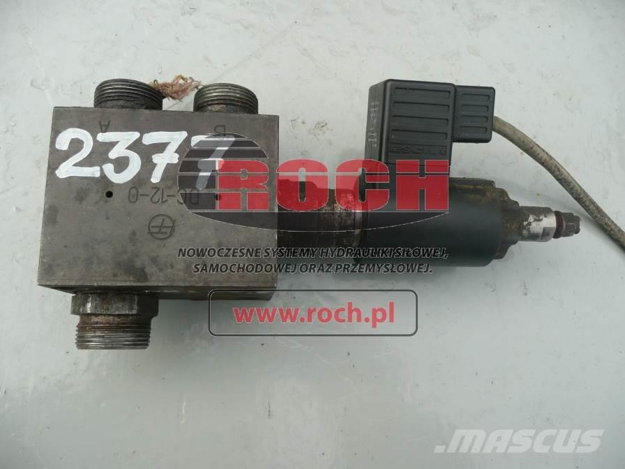 [Other] Rozdzielacz FRUTIGEN 1sek DC-12-0+ cewka 24VAC/DC