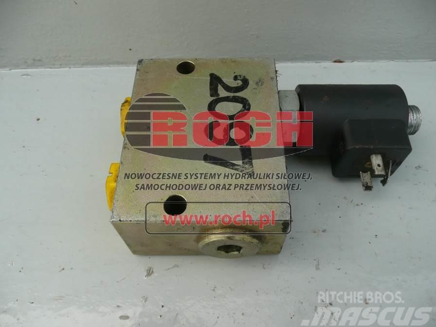 [Other] Rozdzielacz SCHWING 1sek SV2/2L-G1/2-12V-G 1014012